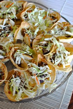 Guest Post: Pulled Pork Taco Cups by The Food Bitch Blog