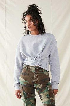 Urban Renewal Recycled Twist Front Sweatshirt