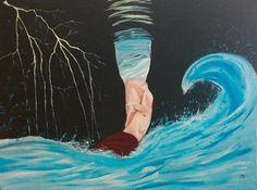 Jezus reikt ons de hand, dwars door de stormen in ons leven. Pakken wij deze hand, de keus is aan ons!
