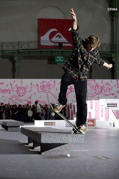Samu Karvonen - Blunt slide ©fnto  #skate