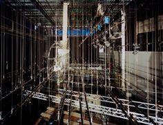 Le cintres au dessus de la scène