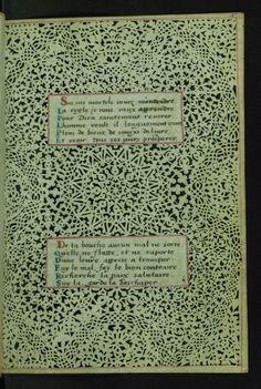 W.494, LACE BOOK OF MARIE DE' MEDICI fol. 5r