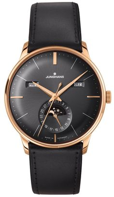 Junghans Watch Meister Chronoscope 027/7323.01 Watch