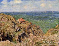 Claude Monet The Gorge At Varengeville oil painting reproductions for sale
