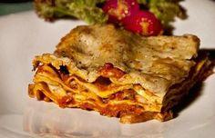 λαζάνια φούρνου με κιμά - σάλτσα bolognese (μπολονιέζε)