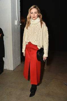 Olivia Palermo Photos Photos - Olivia Palermo attends the Marchesa fashion show during, New York Fashion Week: The Shows at Gallery 2, Skylight Clarkson Sq on February 15, 2017 in New York City. - Marchesa - Front Row - February 2017 - New York Fashion Week: The Shows