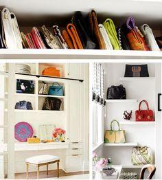 Ordena Tus Bolsos Y Si Quieresu2026 ¡decora Con Ellos! | Mi Casa No · Handbag  OrganizationHandbag ...