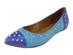 sapatilha cap toe spikes azul - raphaella booz