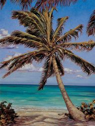 Artist Workshop | How to Paint a Tropical Palm Tree in Oil Step | Walter Foster