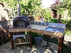The Stone Bake Gallery - The Stone Bake Oven Company Diy Outdoor Bar, Build Outdoor Kitchen, Outdoor Kitchen Design, Outdoor Fire, Outdoor Decor, Outdoor Entertaining, Outdoor Cooking, Pergola Patio, Backyard