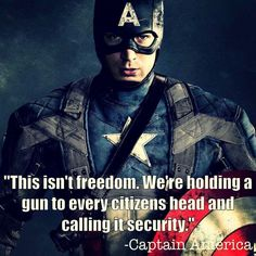 Captain America has the Libertarian Quote of the Day.