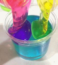stimulating gifs, photos and videos for your viewing pleasure! mobile links Glitter Slime, Glitter Nikes, Slime Gif, Slimy Slime, Slime Asmr, Diy Crafts Slime, Slime Craft, Sand Crafts, Kids Crafts