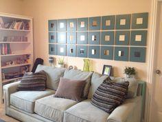 Ikea Malma mirrors - Wall art for $50!