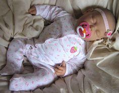 REBORN BABY DOLL 20 inch, Baby Reborn, Life size child friendly, Barenguer Doll, Kids doll, vinyl doll, 7 lbs 5 oz - Nora Lee. $125.00, via Etsy.