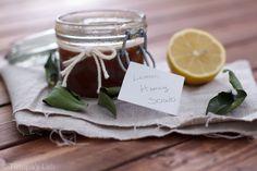 Lemon Honey Sugar Scrub... Have to try this!