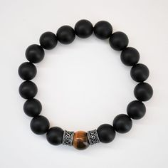 Bracelet Onyx now featured on Fab.