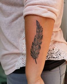 feather tattoo #ink