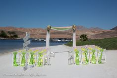The Lake Club At Las Vegas Beach Setup