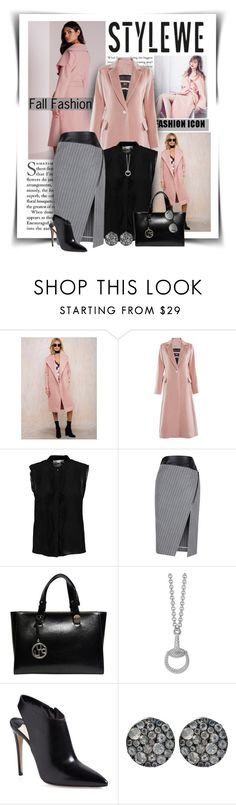 """""""Stylewe Fall Fashion"""" by diva1023 ❤ liked on Polyvore featuring Alexis, Gucci, Prada, Stephen Dweck, Burberry and stylewe"""