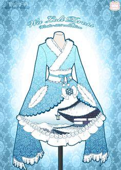 Wa Loli Winter Dress by Neko-Vi on DeviantArt