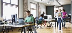 Having an open floor isn't a bad thing, but to encourage people to produce their best work you need private working spaces as well.