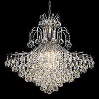 Elegant Lighting 8005G31C/SS 15 Light Toureg Crystal Chandelier