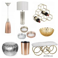 Olympic Inspired Spaces: Gold Silver Bronze Decor - The OP Life Olympics, Bronze, Ceiling Lights, Spaces, Inspired, Pendant, Silver, Gold, Life