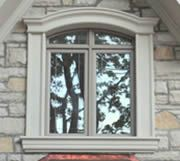 House Window Design, Window Grill Design, House Front Design, Exterior Window Molding, Window Moulding, Exterior Windows, Arched Windows, Windows And Doors, Outdoor Window Trim