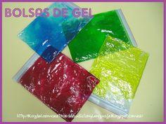 Pues en el taller de hoy hemos realizado unas bolsas sensoriales de gel, que también nos han servido como pizarras mági...
