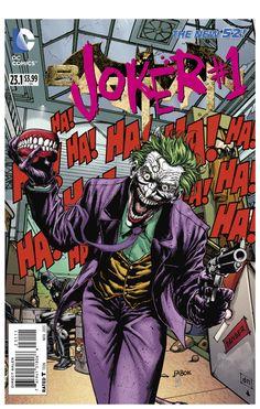"""Joker #1"" (Batman #23.1) - Villains Month - Animated Cover Gif"