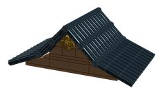 There are plenty of roof building techniques out there. Today I'll talk about one simple and sturdy technique that surprisingly I haven't seen much. I call it the Technic roof. The first example that I saw was this cute little scene from a Chinese builder, 树影婆娑, that inspired me when I first came out of …
