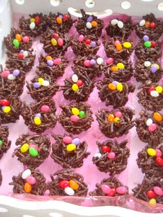 Birthday Party Ideas - Blog - EASY CHOCOLATE BIRD NESTS
