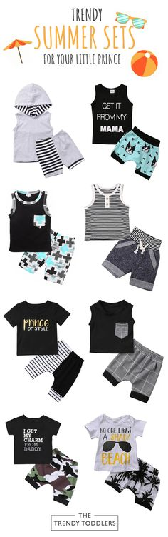 The Outfit Sets for Baby Boys: Stylish & Cute Fashion Kids, Toddler Fashion, Farm Animal Nursery, Cute Baby Boy Outfits, Best Baby Gifts, Prayer Warrior, Babies Clothes, Teen Boys, Future Baby