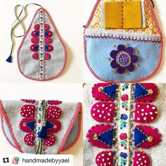 #Repost @handmadebyyael with @repostapp ・・・ There is really nothing better than handmade gifts! Yesterday I got this amazing Marsma/Maschma from my very dear and talented friend @hedvigwendelbo  A Marsma is a sort of little sewing/tool pouch originally made and used by the Sami people (the indigenous people of northern Sweden) that you could hang on your belt to have all the tools at hand. So my friend Hedvig made this one for me and I can't stop looking at it and touching it. It's sooooo…