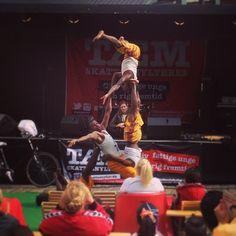 Stor akrobatik på #Flakhaven. #TourDeFuture #odense #taxpower #thisisodense #mitodense www.thisisodense.dk/11157/tour-de-future