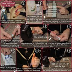 How to apply your Jamberry Nail wraps www.kerriberry.jamberrynails.net