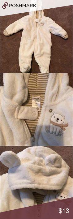 Winter onesie 6 months excellent condition worn once. Unisex Carter's One Pieces Bodysuits