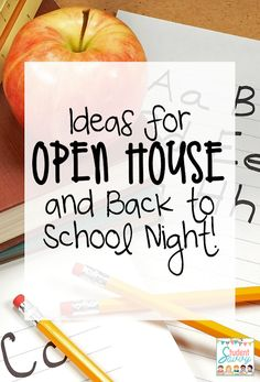 Ideas for Open House