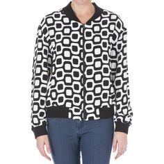 Isolda Womens Silk Printed Jacket