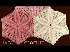 How To Crochet Table Runner With Star Flower Motif - Crochet Ideas Crochet Designs, Crochet Patterns, Crochet Table Runner, Hexagon Pattern, Star Flower, Crochet Videos, Easy Crochet, Crochet Flowers, Doilies