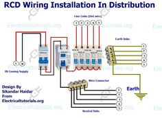 A complete diagram of single phase distribution board with double a complete guide of rcd wiring installation in distribution board with double pole mcb breaker and single pole mcb breaker diagram and video tutorial cheapraybanclubmaster Choice Image