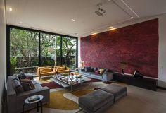 Projeto Alto de Pinheiros - SP : Salas de estar modernas por Alice Martins Flávio Butti