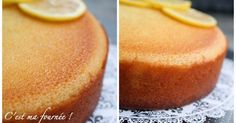 The lemon cake (gâteau ultra fondant au citron) - Torte Strawberry Cake Recipes, Healthy Cake Recipes, Nutella Recipes, Sweet Recipes, Snack Recipes, Dessert Recipes, Sheet Cake Recipes, Dump Cake Recipes, Cake Recipes From Scratch