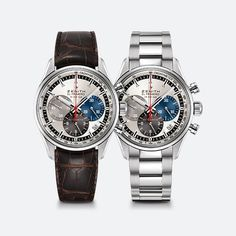 Official Zenith website - El Primero Original 1969 - Swiss luxury watch with silver-toned dial with 3 color-counters. Automatic high-frequency column-wheel chronograph.