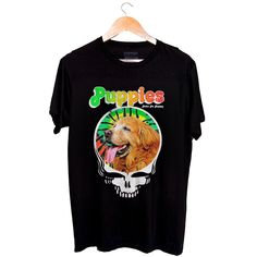 Printed on a Puppy-Soft™ blended shirt. Silkscreened ink because Puppies are Furever.