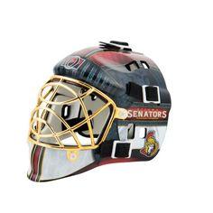 outlet store be6e8 c4a53 Ottawa Senators Full-sized Helmet Goalie Mask, Bicycle Helmet, Ottawa, Mini,