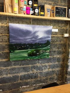 Artworks by Denise Anzellotti: Enjoy local art, great coffee and food @ Now & Not...
