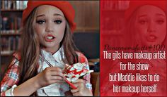 Maddie Ziegler - Makeup - Dance moms - 24 HOURS WITH MADDIE ZIEGLER - interview