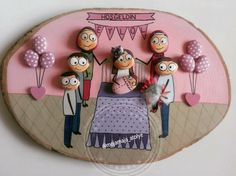 ~ CREATIVE ART IDEAS ~ Painted Rock Family