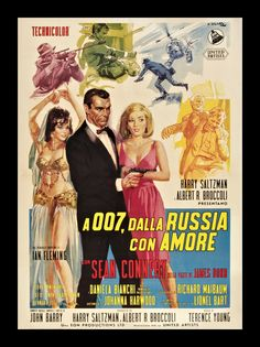11-23-2013: From Russia With Love (1963).  I got to see this second Bond flick on the big screen at the Senate Theater in Detroit.  The campyness of the original bond is always epic.  One liners and seduction abound!  Favorite battle is Bond vs #3 dressed as a Frumpy Russian housekeeper with knifeshoe!